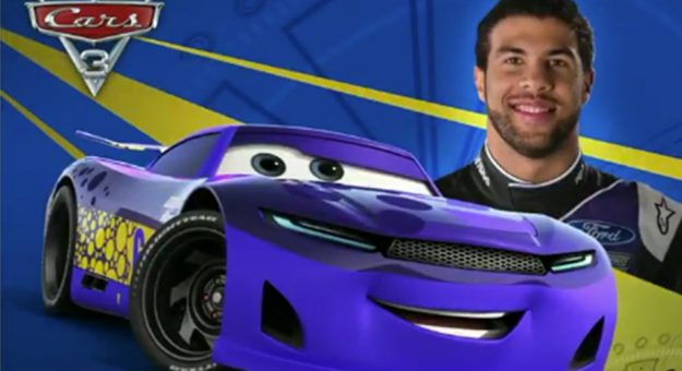 nascars exclusive look at cars 3 characters