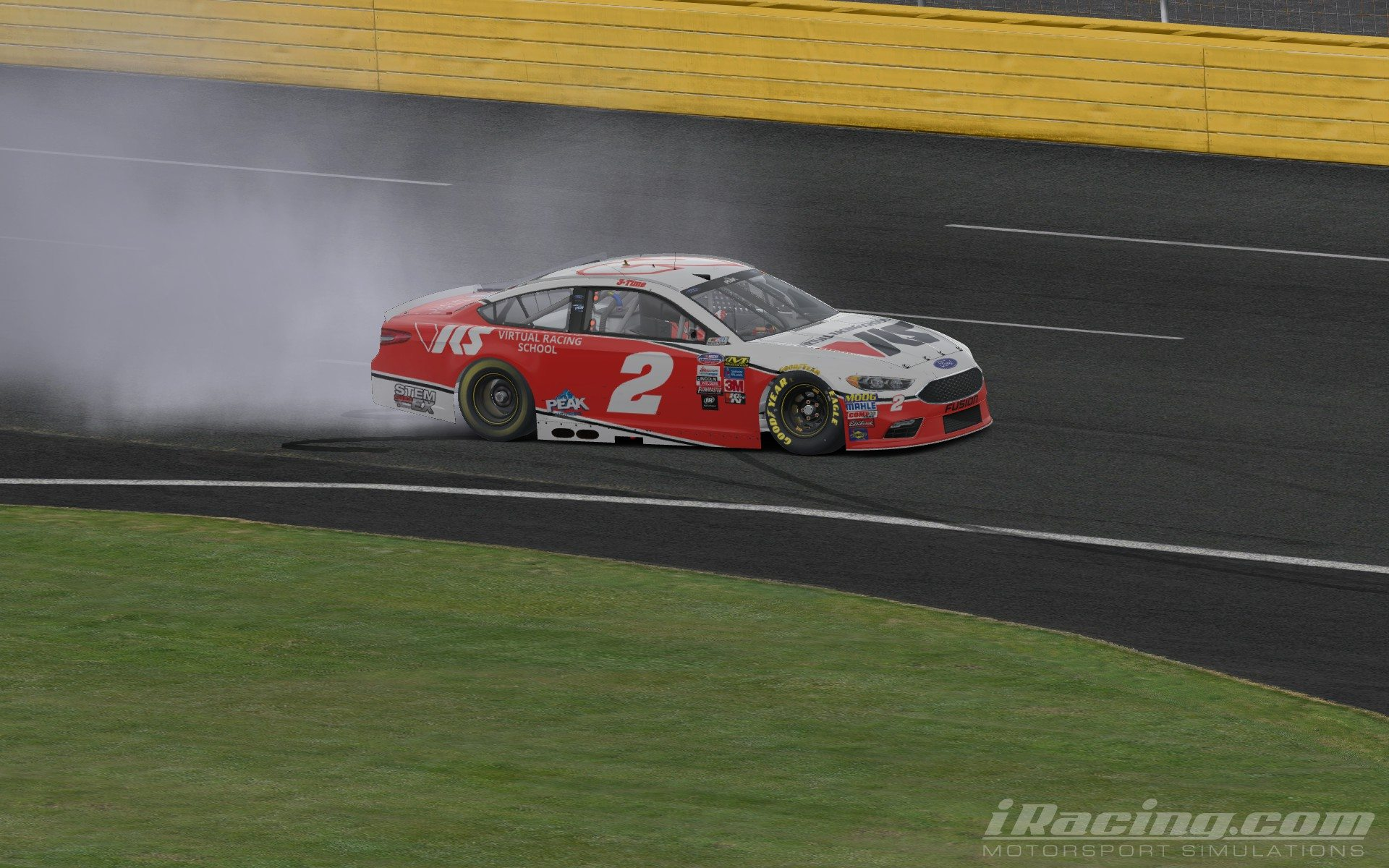 Ray Alfalla wins NASCAR PEAK Antifreeze Series race at Charlotte