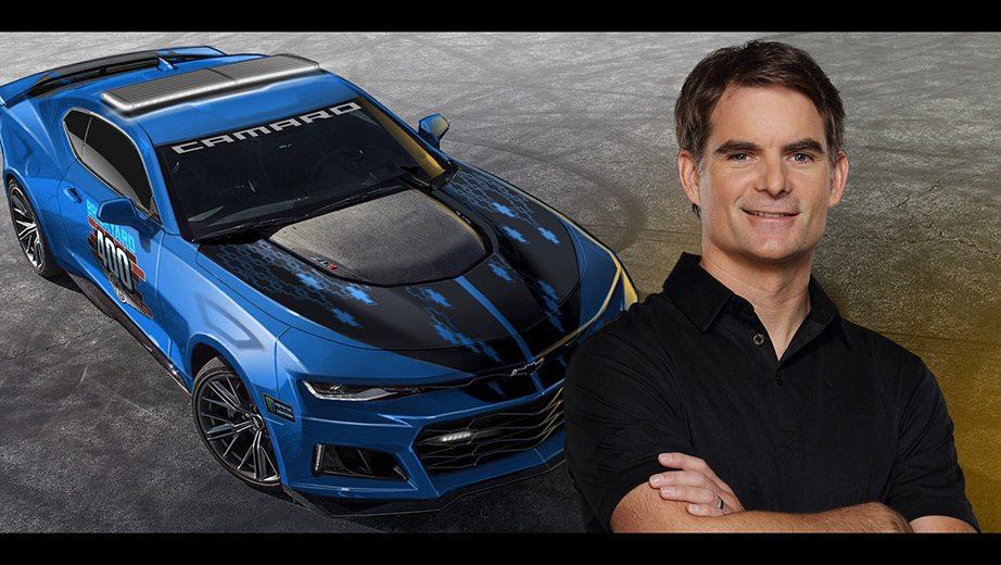Jeff Gordon Chevrolet >> Jeff Gordon to drive pace car ahead of Indianapolis Brickyard 400