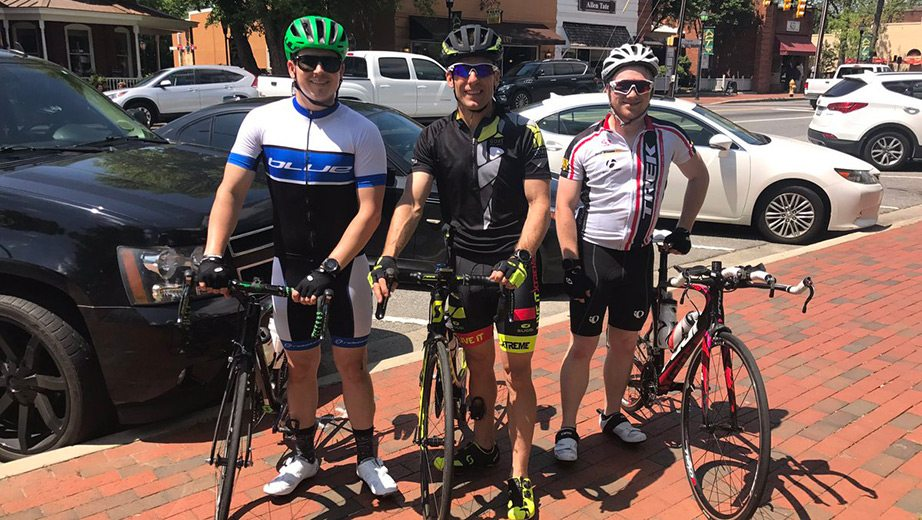 Fit Row Jamie Mcmurray In Thick Of Nascar S Cycling Craze