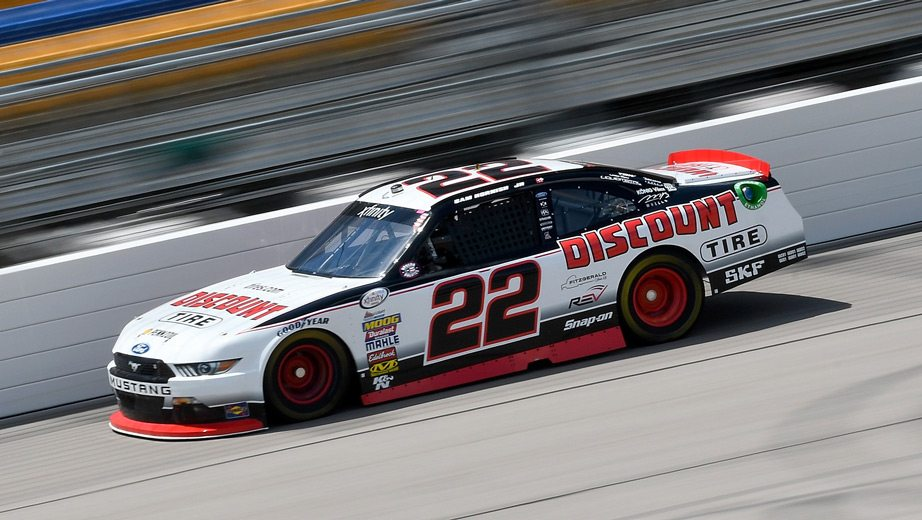 School is in session at Iowa with Sam Hornish Jr. teaching the lessons - Nascar