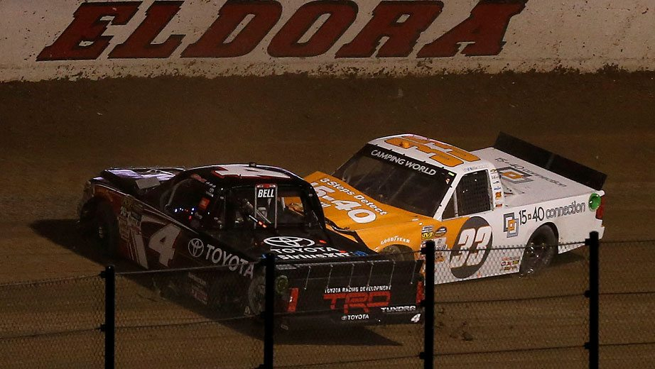 Christopher Bell Overcomes Early Flub Nearly Makes Eldora Comeback