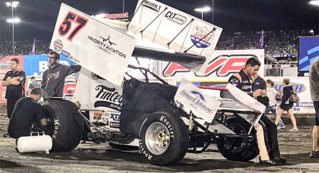 Knoxville Nationals Results Kyle Larson Finishes Second To Donny