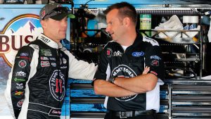 Kevin Harvick and Rodney Childers