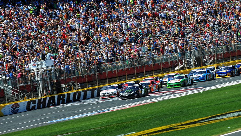 Alsco named entitlement sponsor for xfinity race at for Events at charlotte motor speedway
