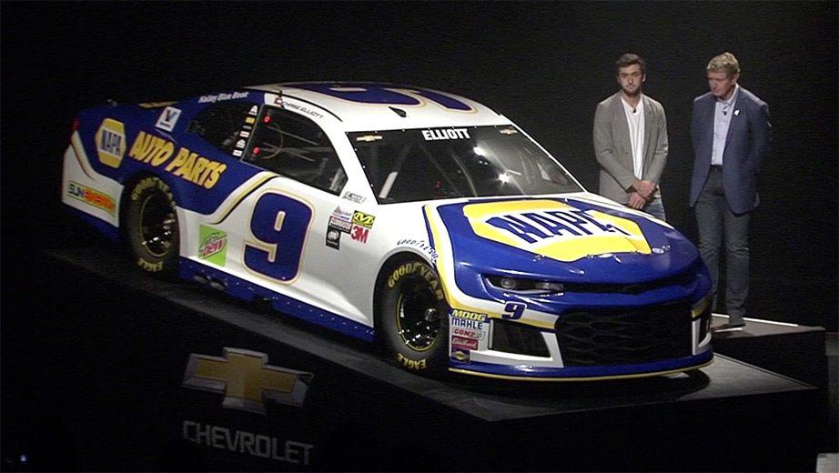 2018 Daytona 500: Chase Elliott's No. 9 paint scheme | NASCAR.com