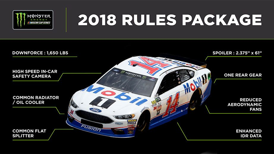 Rules package for 2018 set for Monster Energy Series | NASCAR.com