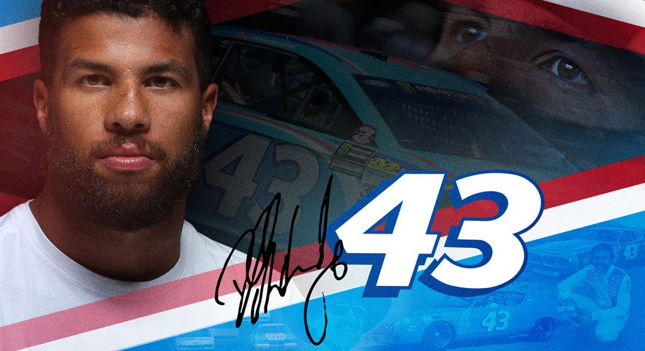 Darrell Wallace Jr. to drive iconic No. 43 for RPM | NASCAR.com