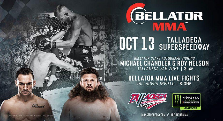 MMA at Talladega: Event scheduled under the lights | NASCAR.com