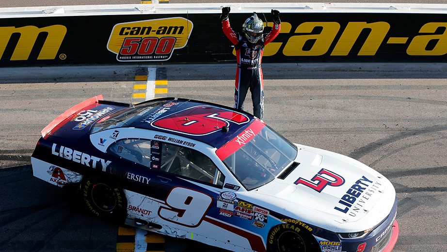 Xfinity Results William Byron Wins Phoenix Cutoff Race