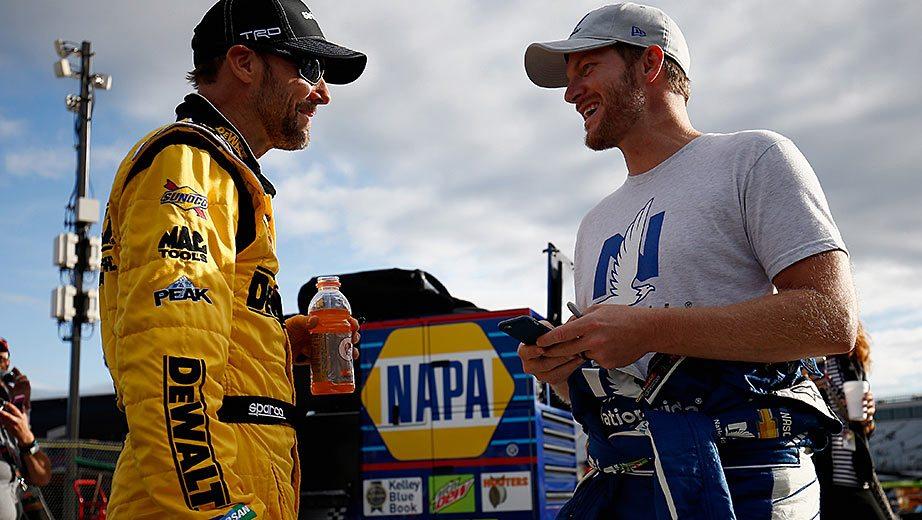 Strong bonds for Kenseth, Earnhardt in career twilight | NASCAR.com