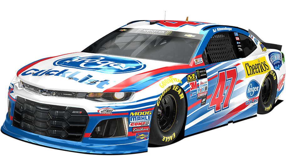 see the 2018 paint scheme for aj allmendinger