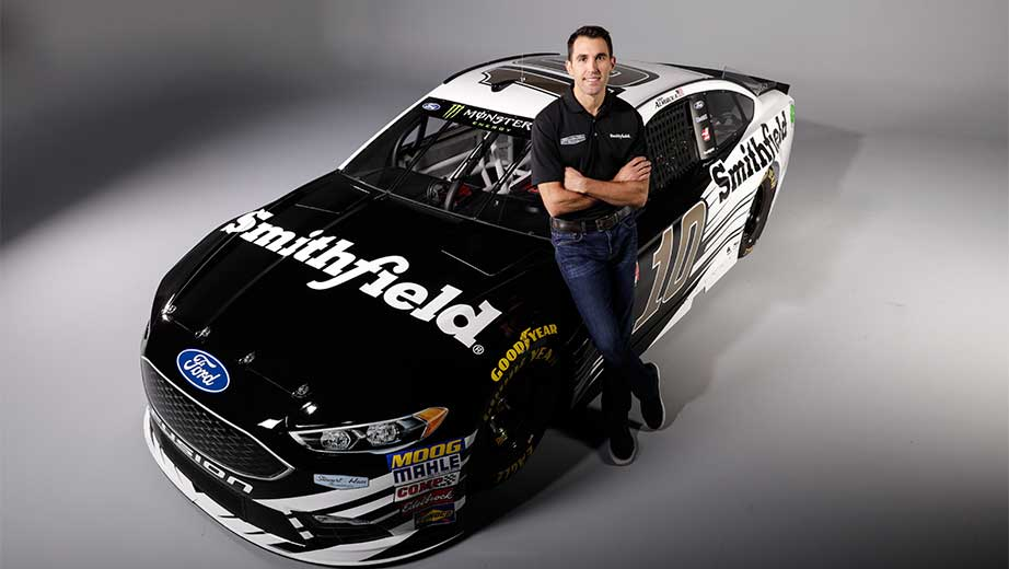 Aric Almirola to drive No. 10 Ford for SHR in 2018 ...