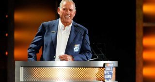 Rewatch David Pearson's NASCAR Hall of Fame speech