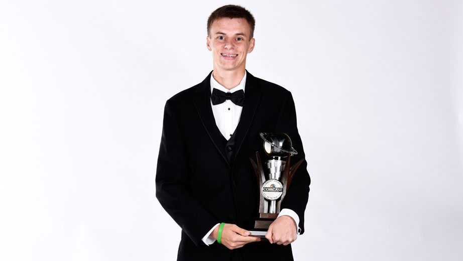 Joey Gase opens up, receives award in mother's honor | Official Site Of NASCAR