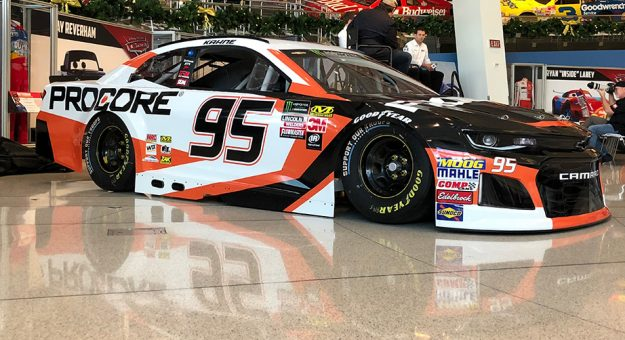 Leavine Family Racing Shows Off New Look Paint Scheme