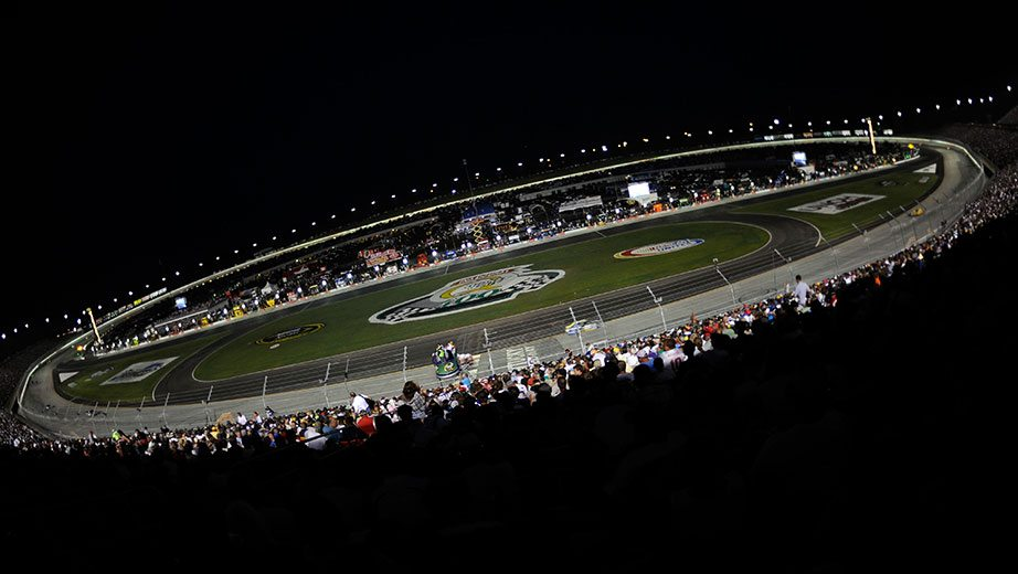 View from the track at Kentucky Speedway