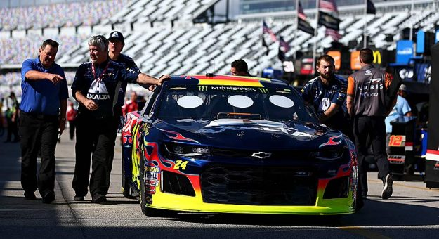 Positive early reviews for new inspection system in daytona brian lawdermilk getty images pronofoot35fo Image collections