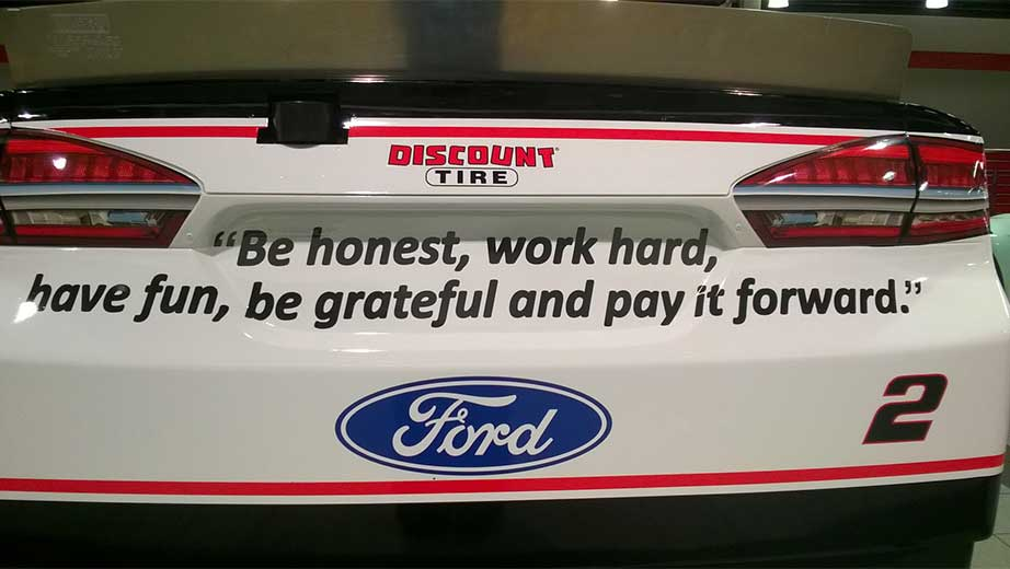 Brad Keselowski blog: Honoring Bruce Halle | NASCAR.com