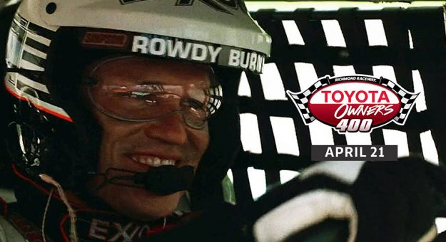 Days Of Thunder Star Named Richmond Pace Car Driver