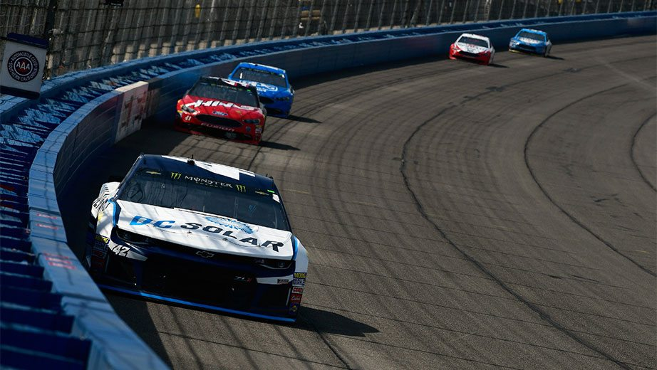 Kyle larson rallies thrills for second place finish for Larson motors used cars