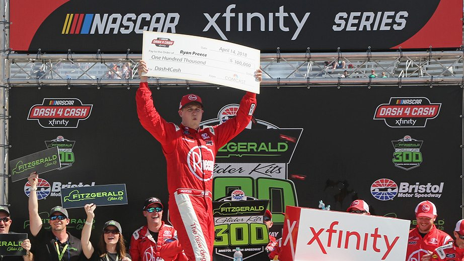Ryan Preece bags Xfinity victory, Dash 4 Cash at Bristol | NASCAR.com