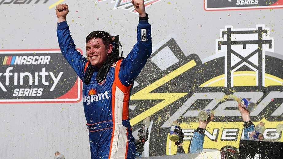 Spencer Gallagher earns first Xfinity win at Talladega | NASCAR.com