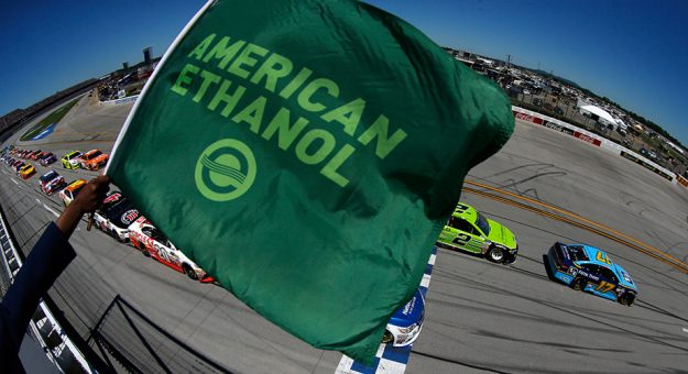Green flag flies at Talladega