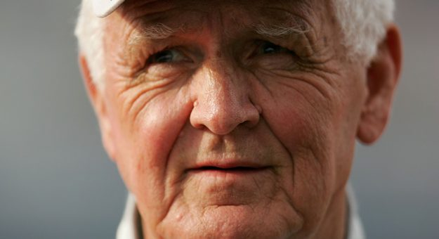 James Hylton looks on at Daytona International Speedway.