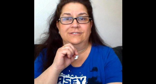 Rosemary, the NASCAR Fan Council Member of the Month for May.