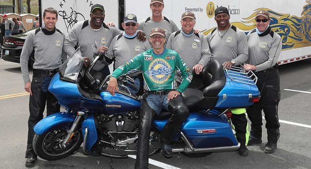Kyle Petty and a host of celebrity contributors for the Kyle Petty Charity Ride Across America.