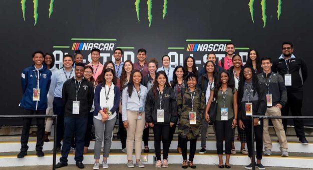 NASCAR Diversity Intern program participants 2018
