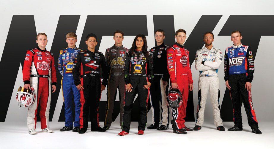 Nine drivers selected for 2018 NASCAR Next class | NASCAR.com
