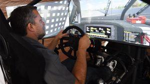 Tony Stewart driving on iRacing
