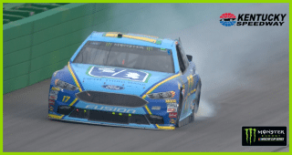 McMurray, Stenhouse Jr. make contact early at Kentucky