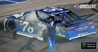 Race recap: Truex Jr. brings the horsepower to Kentucky