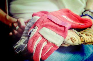 Treated Liz Allison Gloves