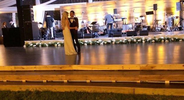 Kyle Larson Katelyn Sweet wedding