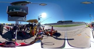 Kyle Busch Pit Stop 360
