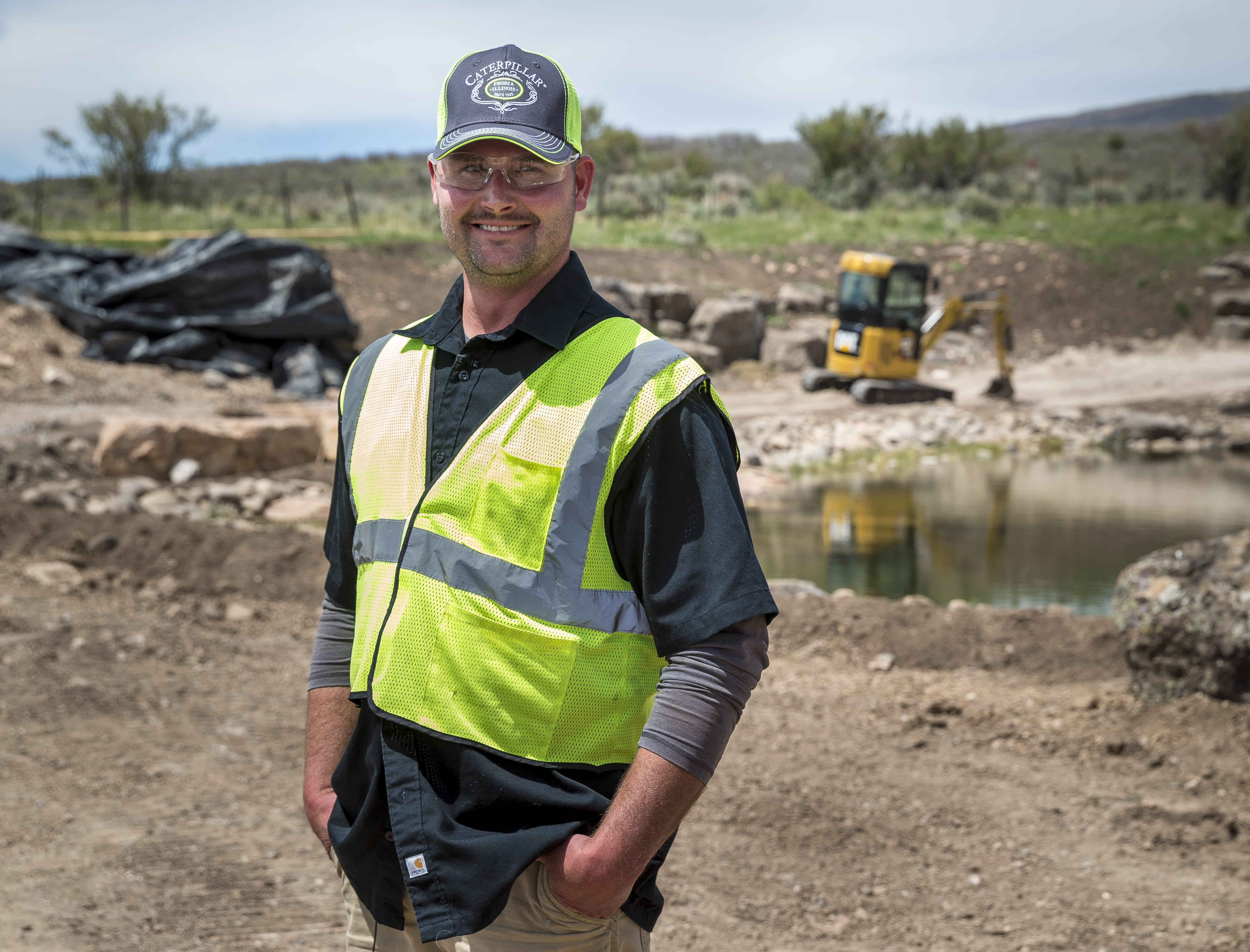 Marc Blackhurst, operator, Waters Edge Designs