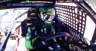 All Access: Go inside Chase Elliott's helmet at Kansas