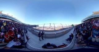 ISM Race Restart Grandstands 360
