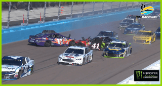 Late wreck collects NASCAR Playoffs contenders