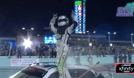 Tyler Reddick's epic burnout takes out Xfinity flag