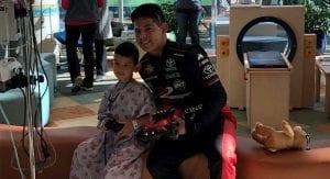Ryan Vargas gives back