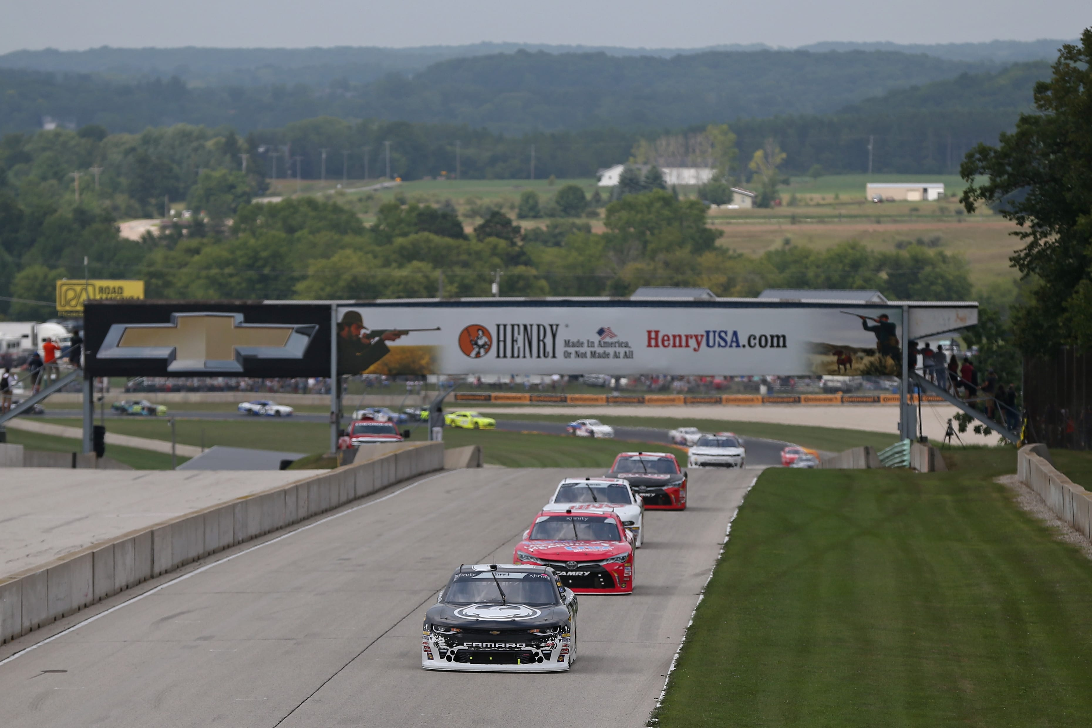 View from the track at Road America