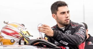 Chase Cabre returns to NASCAR's Drive for Diversity