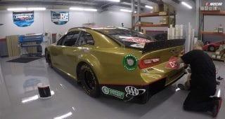 Time-lapse of Dillon's RCR 50th anniversary scheme