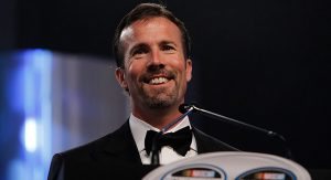 J.D. Gibbs during NASCAR Awards festivities in 2010.