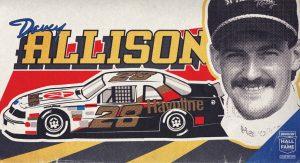 Davey Allison Hall of Fame graphic